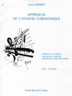 Lucie ROBERT - Approche de l'analyse harmonique - Livre - di-arezzo.fr