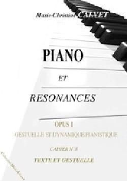 Piano et résonances, opus 1 (8 cahiers) laflutedepan