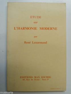 Étude sur l'harmonie moderne - René LENORMAND - laflutedepan.com