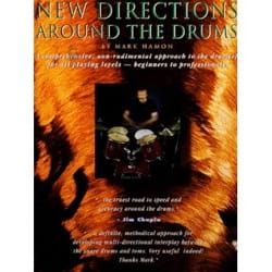 New directions around the drums (Livre en anglais) laflutedepan