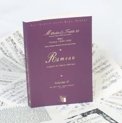 Jean-Philippe RAMEAU - Intégrale de l'oeuvre théorique, vol. 2 - Livre - di-arezzo.fr