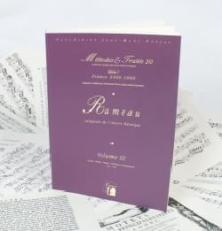 Jean-Philippe RAMEAU - Intégrale de l'oeuvre théorique, vol. 3 - Livre - di-arezzo.fr