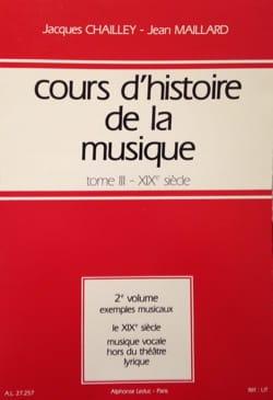 Cours d'histoire de la musique : Tome 3 vol. 2 laflutedepan