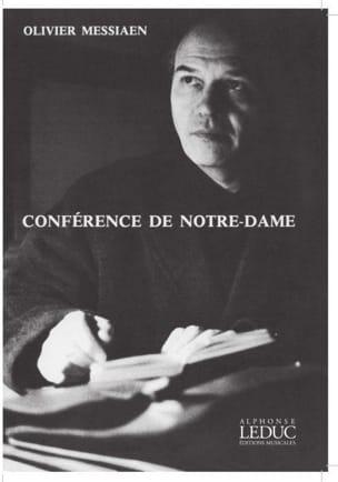 Conférence de Notre-Dame MESSIAEN Livre Les Hommes - laflutedepan