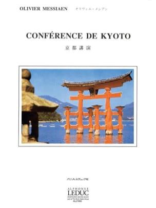 Conférence de Kyoto MESSIAEN Livre Les Hommes - laflutedepan