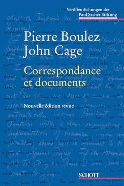Correspondance et documents BOULEZ Pierre / CAGE John laflutedepan