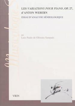 Les variations pour piano, op. 27, d'Anton Webern - laflutedepan.com