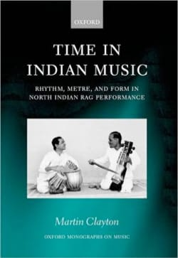 Time in indian music Martin CLAYTON Livre Les Pays - laflutedepan
