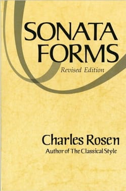 Sonata Forms Charles ROSEN Livre Analyse musicale - laflutedepan