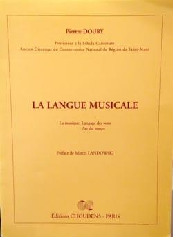 La langue musicale - Pierre DOURY - Livre - laflutedepan.com