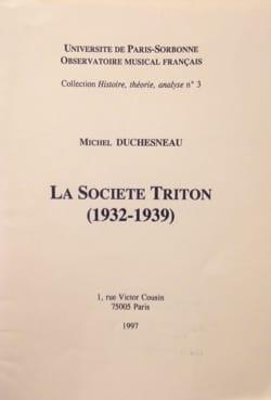 La société Triton (1932-1939) - Michel DUCHESNEAU - laflutedepan.com