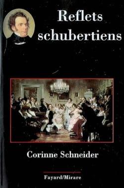 Reflets schubertiens Corinne SCHNEIDER Livre Les Hommes - laflutedepan