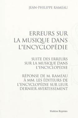 Erreurs sur la musique dans l'Encyclopédie - laflutedepan.com