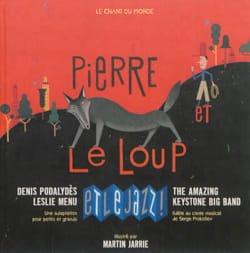Pierre et le loup et le jazz ! Serge PROKOFIEV Livre laflutedepan