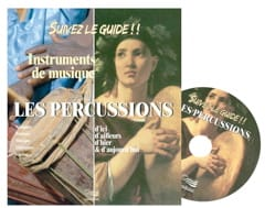 Instruments de musique : les percussions Collectif Livre laflutedepan