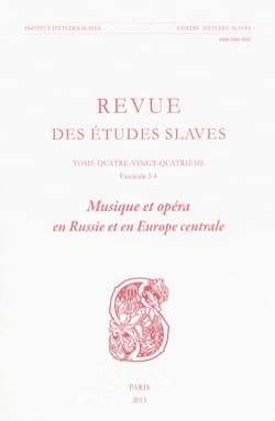 Pascale dir. MELANI - Musique et opéra en Russie et en Europe centrale - Livre - di-arezzo.fr