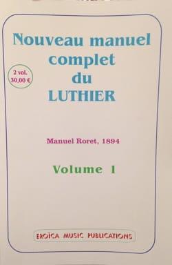 Nouveau manuel complet du luthier (Deux volumes) - laflutedepan.com