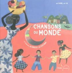 Aurélia FRONTY - Chansons du monde : du Brésil au Vietnam - Livre - di-arezzo.fr