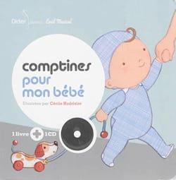 Comptines pour mon bébé - Cécile HUDRISIER - Livre - laflutedepan.com