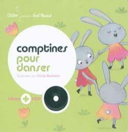Cécile HUDRISIER - Comptines pour danser - Livre - di-arezzo.fr