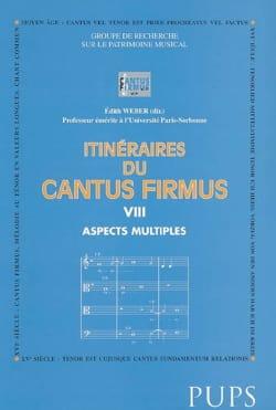 Itinéraires du cantus firmus, vol. 8 : Aspects multiples - laflutedepan.com