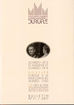 Association Maurice & Marie-Madeleine Duruflé : bulletin n° 11 (2011) laflutedepan