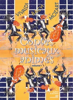 Contes musicaux animés, vol. 1 (DVD) Collectif Livre laflutedepan