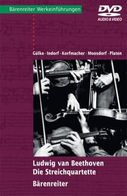 Ludwig van Beethoven : Die Streichquartette (Livre en allemand, avec DVD) - laflutedepan.com