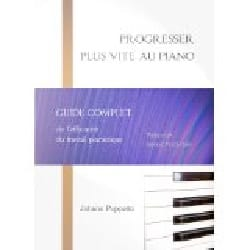 Johann PUPPETTO - Progress faster on the piano - Book - di-arezzo.co.uk