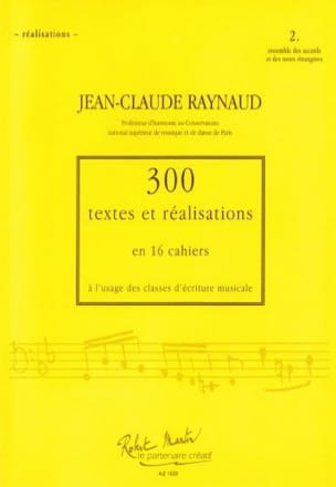 Jean-Claude RAYNAUD - 300 Texts and Realizations Book 2 (Achievements): set of chords and notes - Book - di-arezzo.co.uk