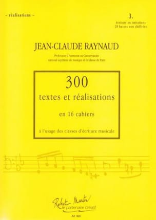 Jean-Claude RAYNAUD - 300 Texts and Realizations Notebook 3 (realizations): Writing in Imitation - Book - di-arezzo.co.uk