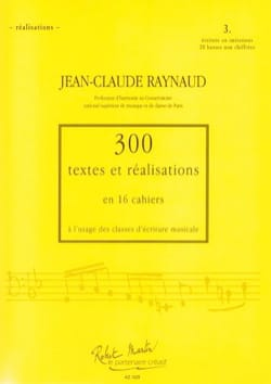 Jean-Claude RAYNAUD - 300 Texts and Realizations Notebook 3 (texts): writing in imitation - Book - di-arezzo.co.uk