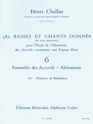 Henri CHALLAN - 380 BASSES AND SONGS GIVEN, Vol 6B: Achievements - Book - di-arezzo.com