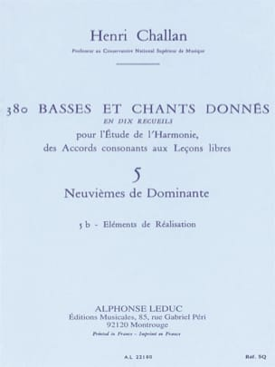 Henri CHALLAN - 380 BASSES AND SONGS GIVEN, Flight 5B: Achievements - Book - di-arezzo.co.uk