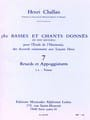 Henri CHALLAN - 380 Basses and songs given - 7a-Texts - Book - di-arezzo.com