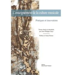 GUYE Jean-Philippe dir. - L'enseignement de la culture musicale : pratiques et innovations - Livre - di-arezzo.fr