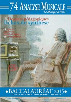 Analyse Musicale n° 74 - BAC 2015 Revue Livre Revues - laflutedepan