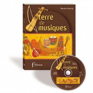 Terre de musiques Martine HAERRIG Livre Les Oeuvres - laflutedepan