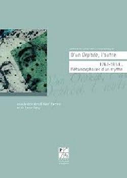 D'un Orphée, l'autre : 1762-1859, métamorphoses d'un mythe - laflutedepan.com