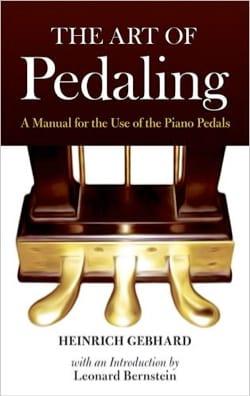 The art of Pedaling - Heinrich GEBHARD - Livre - laflutedepan.com