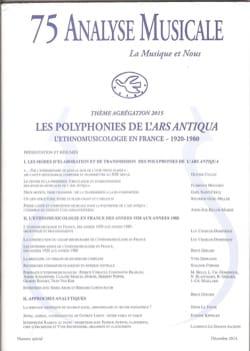 Revue - Analyse Musicale n° 75: Agrégation 2015 - Livre - di-arezzo.fr
