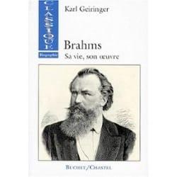 Brahms : sa vie et son oeuvre - Karl GEIRINGER - laflutedepan.com