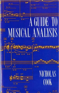 Nicholas COOK - A guide to musical analysis - Livre - di-arezzo.fr