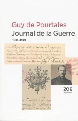 Journal de la guerre : 1914-1919 Guy (de) POURTALÈS Livre laflutedepan