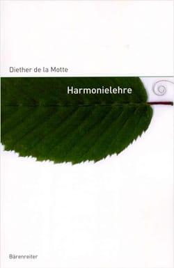 LA MOTTE Diether DE - Harmonielehre - Livre - di-arezzo.fr