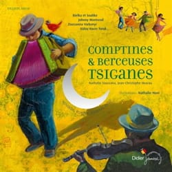 Comptines & berceuses tsiganes Nathalie SOUSSANA Livre laflutedepan