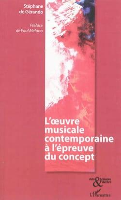 L'oeuvre musicale contemporaine à l'épreuve du concept - laflutedepan.com