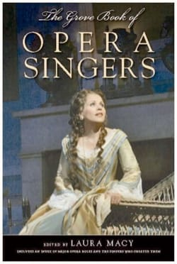 The Grove book of Opera Singers - Laura MACY - laflutedepan.com