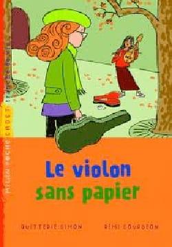 Le violon sans papiers - Simon QUITTERIE - Livre - laflutedepan.com
