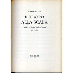 Carlo GATTI - Il Teatro alla Scala: nella storia e nell'arte (2 vols.) USED BOOK - Sheet Music - di-arezzo.co.uk